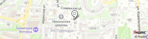 МТД Пасифик Бридж на карте Владивостока