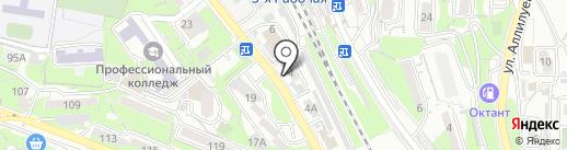 Федеральная служба государственной регистрации, кадастра и картографии на карте Владивостока
