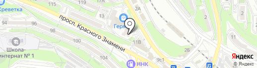 Bosch на карте Владивостока