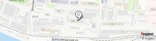 В-Лазер на карте Владивостока