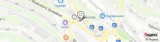 Бочка на карте Владивостока