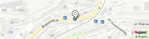 Бистро на Военном Шоссе, 36 киоск на карте Владивостока