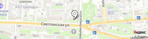 Честный город на карте Владивостока