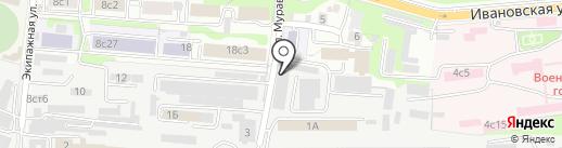 Типография 3D-Объем на карте Владивостока