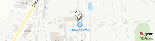 Дом Плюс на карте Уссурийска