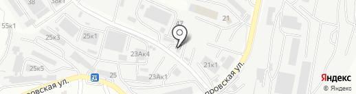 Зип-Трейд на карте Владивостока