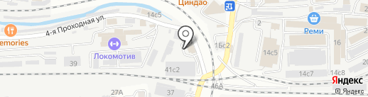 ДВ Свиф на карте Владивостока