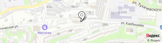 Дальневосточная Инженерная компания на карте Владивостока