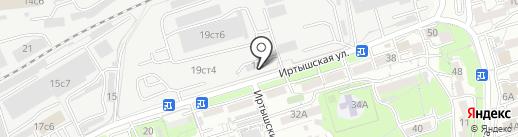 Пигмент ДВ на карте Владивостока