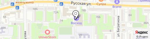 Спорт-класс на карте Владивостока