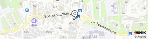 Автосервис на карте Владивостока
