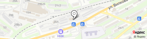 Легион на карте Владивостока
