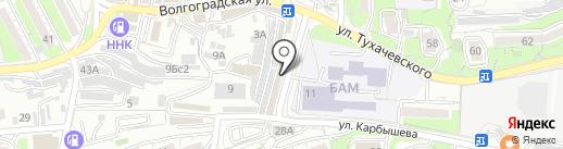 Звезда-ЭМ на карте Владивостока