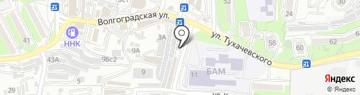 Юнификс на карте Владивостока