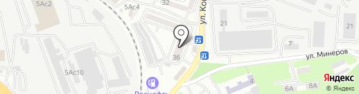 Тетрис на карте Владивостока