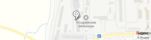 Уссур-Мебель на карте Уссурийска