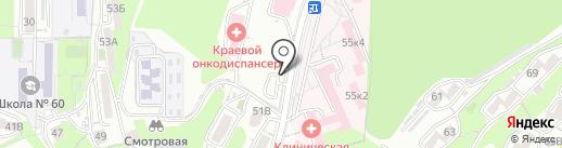 Ростех-ДВ, ЗАО на карте Владивостока