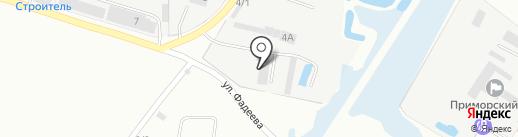 Компания по ремонту грузовых автомобилей на карте Уссурийска