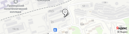 Новый стиль на карте Владивостока