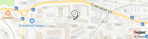Распродажа мебели на карте Владивостока