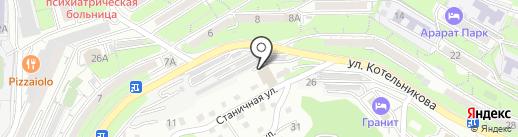 Авто Вольт-Эра на карте Владивостока
