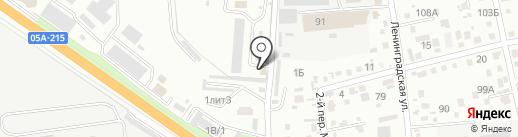 Колония-поселение №51 на карте Уссурийска