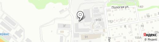 ДТК-Уссурийск на карте Уссурийска