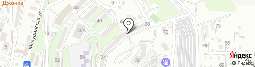 АРКУС на карте Владивостока