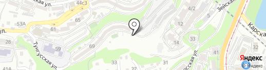 Огонек на карте Владивостока