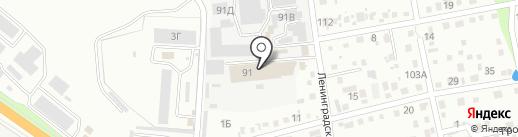 Дельта-Уссури на карте Уссурийска