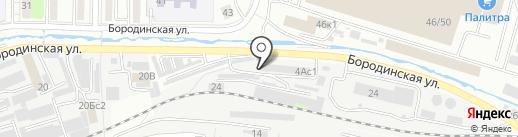 Грузоперевозчик на карте Владивостока