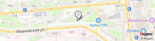 Городская Объединенная Социальная Аптека на карте Владивостока
