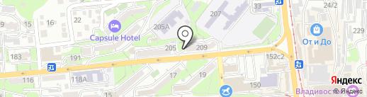 РосТранс Проект на карте Владивостока