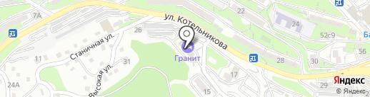 Копейка на карте Владивостока