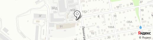 Гурмания на карте Уссурийска