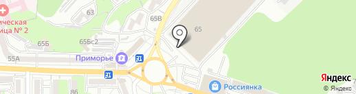 Олимп строй на карте Владивостока