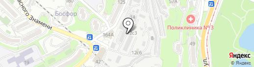 А.С.К. Авто на карте Владивостока