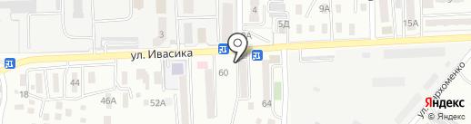 Золотая подкова на карте Уссурийска