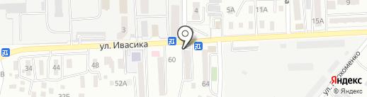 Огонек на карте Уссурийска