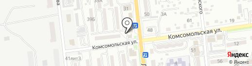 Магазин по продаже печатной продукции на карте Уссурийска