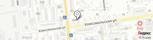 Ануш на карте Уссурийска