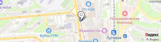 Ремонтная мастерская на карте Владивостока