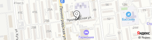 Пункт технического осмотра на карте Уссурийска
