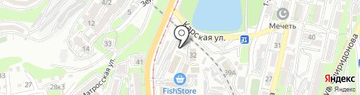 Автоателье на карте Владивостока