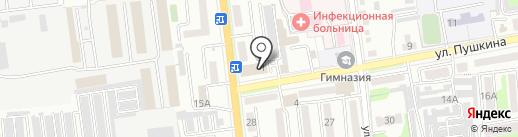VIP Мастер Dent на карте Уссурийска