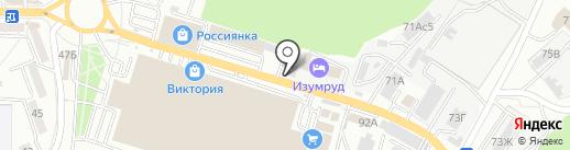 Веган на карте Владивостока