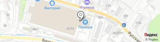 Магазин строительных материалов на карте Владивостока