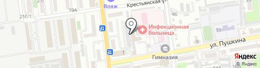 Хендэ Михайловка Агро на карте Уссурийска