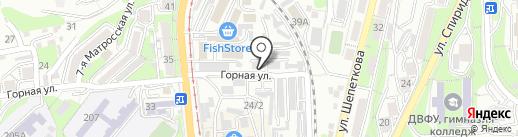 Автоцентр на карте Владивостока
