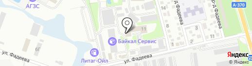 ВСТК-Приморье на карте Уссурийска